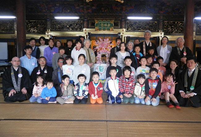 平成26年度 富山北組キッズサンガ はなまつり 開催